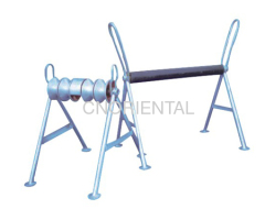 underground cable installment Support rollers