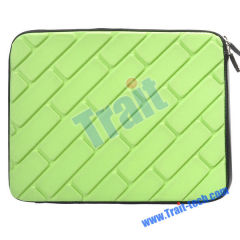 Hot Sale Soft Sponge with Zippers Protective Sleeve Case for Samsung Galaxy Tab P7510(Baby green)