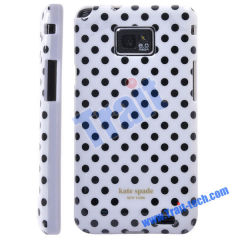 Mini Dots TPU Case Cover for Samsung Galaxy S2 i9100 Wholesale(White + balck)