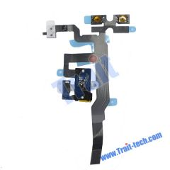 Headphone Audio Jack Flex Cable for iPhone 4S(Black)