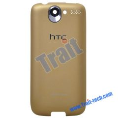 Replacement Back Housing Case Cover for HTC Desire G7(Gold)