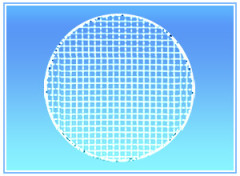 Round Barbecue Grill Netting