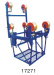 Four-bundled conductor carts for overhead line operation