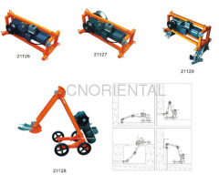 electric traction winch equipment for underground cable installation