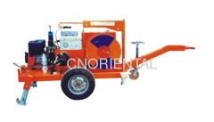 underground cable installation diesel gasoline hydraulic cable puller