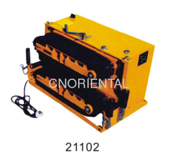 underground cable sending feeder for large diameter cable