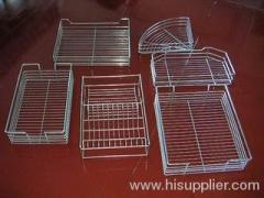 Washing baskets with dividers