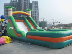 outdoor play slides