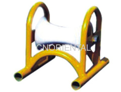 steel pipe supported Cable ground roller