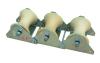 three wheels underground cable ground roller