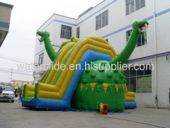 Dino biggest inflatable slide