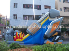 Transformers titanic inflatable slide