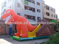 dinosaur huge water slide