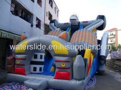 Transformers Giant inflatable slide