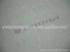 Security fiber paper