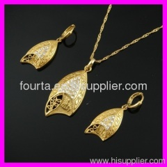 fallon 18k gold plated set FJ