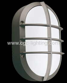 Cast Aluminum Outdoor Wall Mounted Bulkhead Light From