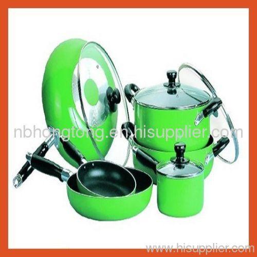 Aluminium kitchen pan set from china manufacturer for Kitchen set aluminium royal