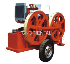 hydraulic fiber optic cable tensioners