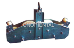 fiber optic cable opgw quadrant block pulley