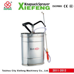 knapsack steel sprayer