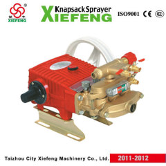 Power sprayer pumps