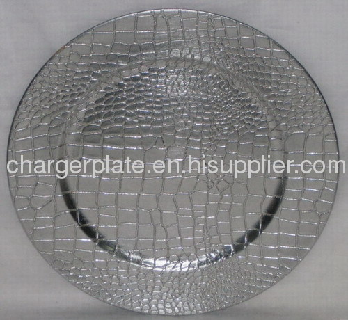 Lacquer plastic charger plate/decorative underplate/charger plate