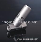 valve;Angle seat valve;Stainless steel valve;ESG valve