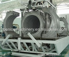 PE PVC double_wall corrugated pipe extrusion line