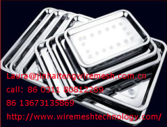 stainless steel medical trays