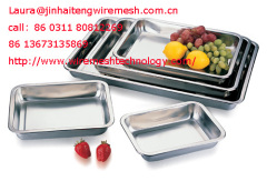 stainless steel lunch trays