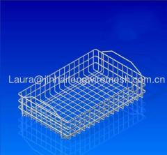 Mesh Wire Baskets-Handles