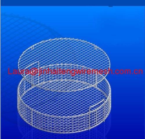 Round Mesh Wire Baskets