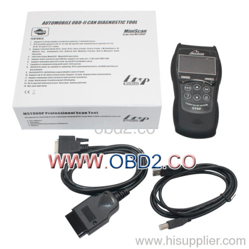 MINISCAN MST900P Professional Scan Tool manufacturer from