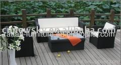 patio rattan furniture sofa sets