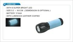 9 led bowling flashlight