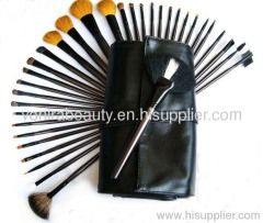 34 Pcs Full Set Studio Goat Hair Makeup Brush