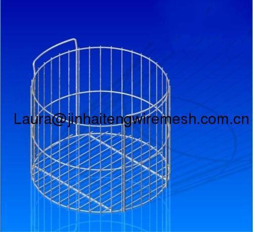 Electropolishing net basket
