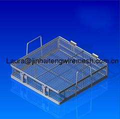 galvanized iron basket