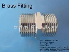 Brass male to Copper Connector brass pipe fitting