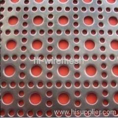 Perforated metal sheet: