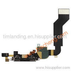 iPhone 4S black dock connector flex cable, sell iPhone 4S black dock connector flex cable
