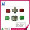 FC square type fiber optic adapter