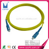 SC single mode fiber optic patch cord