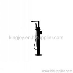 Single lever bath/shower mixer floor mounted