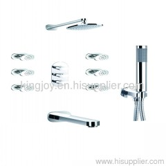 Concealed thermostatic bath/shower mixer