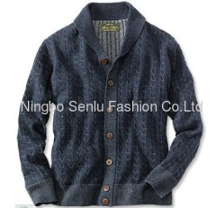 Wool Overs Mens & Womens Lambswool V Neck Cardigan