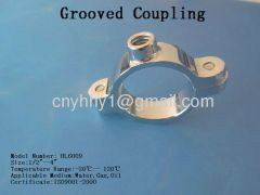 Brass Grooved Coupling