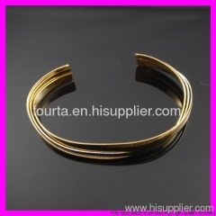 hot 18k gold plated bangle IGP