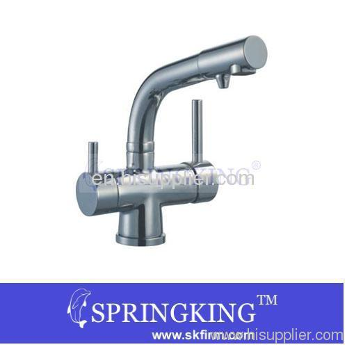 New CE And ROHS Proved Tri-Flow Kitchen Faucet